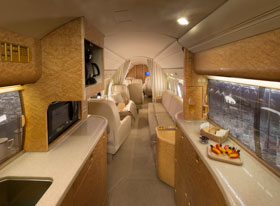 Gulfstream Galley - Guardian Jet