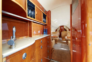 Falcon 2000 sn 203 interior galley guardian jet