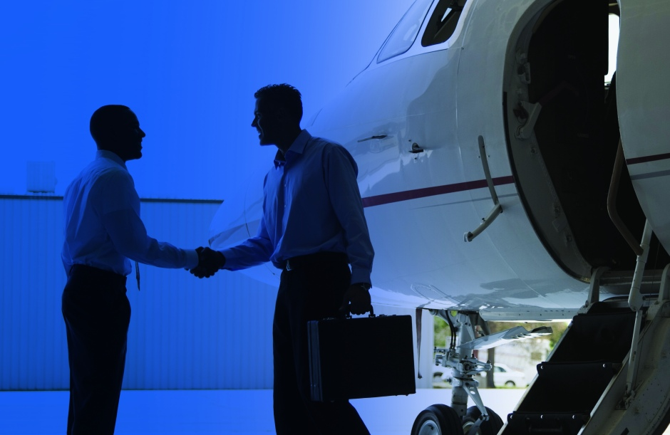 aircraft jet sales - handshake business jet