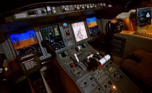 Challenger 605 SN 5908 cockpit