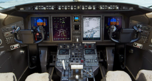 Challenger 300 s:n 20252 flight deck avionics