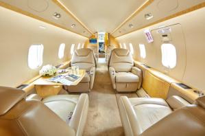Challenger 300 serial number 20252 interior