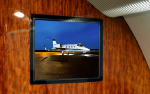 Guardian Jet Bombardier Learjet 60 communications and entertainment