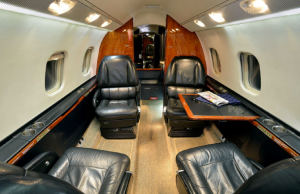 Guardian Jet Bombardier Learjet 60 interior