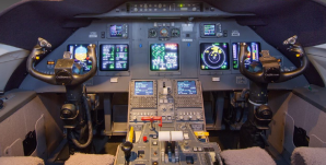 Gulfstream G200 flight deck avionics