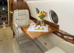 Gulfstream G200 for sale - interior business jet