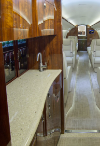 Gulfstream G200 forward galley