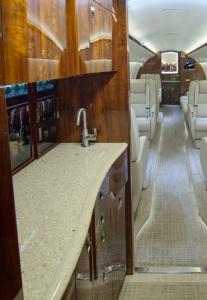 Gulfstream G200 forward galley