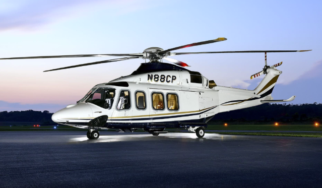 exterior Agusta AW139 helicopter 41246