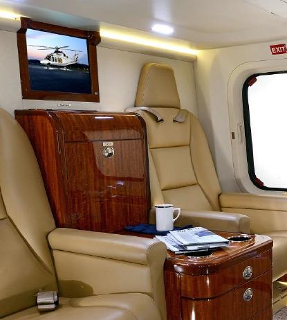 interior seats facing forward Agusta AW139 helicopter 41246