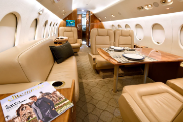 Dassault Falcon 900B SN 98 Guardian Jet aircraft for sale - interior