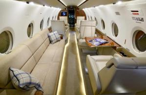Gulfstream G280 -Guardian Jet interior 2
