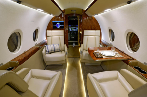 Gulfstream G280 -Guardian Jet interior - LED lighting