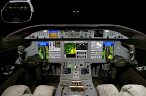 Gulfstream G280 serial number 2074 - Guardian Jet - flight deck - avionics
