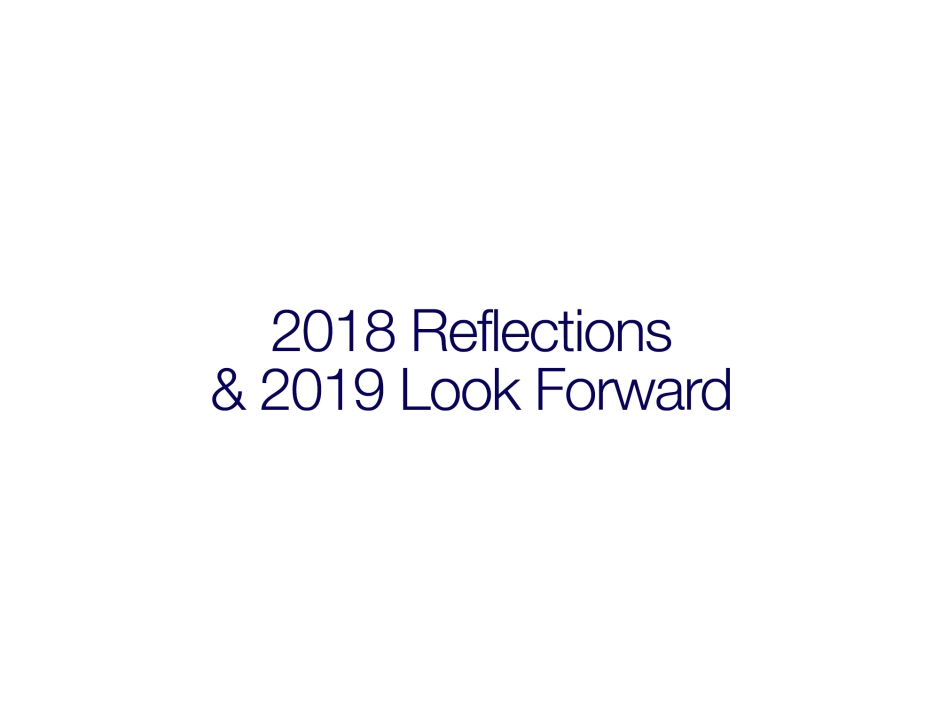 Don Dwyer's 2018 Reflections and 2019 Look Forward for Aircraft Sales