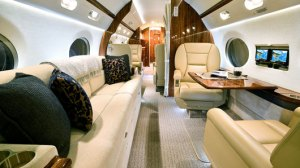 mid aft - Gulfstream G550 for sale by Guardian Jet